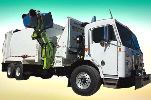 Описание мусоровоза KAREY с боковой загрузкой